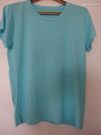 Tee shirt coton stretch Fille 16 ans = Femme taille S Ralph Lauren original TTBE