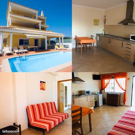 Appartement T2 dans villa vue mer avec piscine