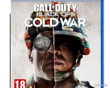 Call of duty : black ops cold war, jeu ps5, neuf