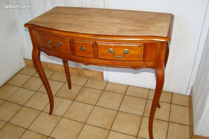 Console - bureau de style Louis XV