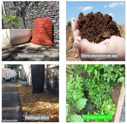 Terre enrichie / fumier / Paillage pour le bien être de votre jardin