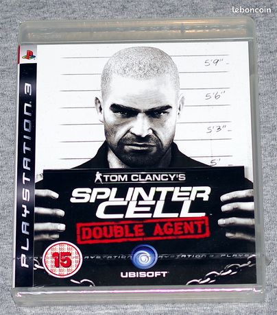 Splinter Cell Double Agent - PS3 -NEUF